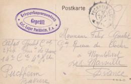 Carte Postale De Correspondance De Camp De Prisonniers De PUCHHEIM 1915. - Autres
