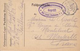 Carte Postale De Camp De Prisonniers De PUCHHEIM 1915. - Altri