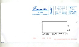 Lettre Flamme Ema Annecy Diamoutl Theme Diamant - EMA (Printer Machine)
