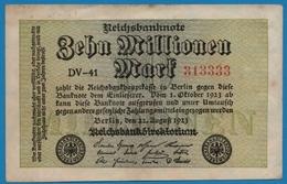 DEUTSCHES REICH 10 Millionen Mark22.08.1923# DV-41 313333  P# 106a - [ 3] 1918-1933: Weimarrepubliek