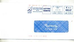 Lettre Flamme Ema Lesquin Lycee Gaston Berger - EMA (Printer Machine)
