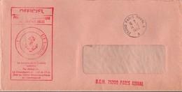 75200 Paris Naval A 1982 Sur Lettre Officiel Du CMC à Colombres - Marine - Marcophilie (Lettres)