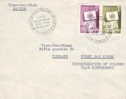 SÜD-VIETNAM - FDC 21-10-1957 COLOMBO PLAN /ak426 - Vietnam