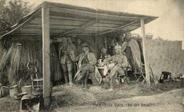 Ansichtskarte Feldpost Feld-Villa Götz BEI DEM BAYERN    1914/15 WWI WWICOLLECTION - Weltkrieg 1914-18