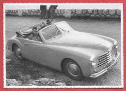 Photo Originale Années 50 - SIMCA 8 SPORT CABRIOLET -       Format  13x18     TBE - Automobiles