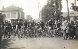 Harfleur: Carte Photo Course Cycliste 1925 - Harfleur