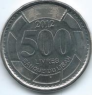 Lebanon - 2012 - 500 Livres - KM39a - Libano
