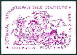 Scout Brindisi Settimana Internazionale Dello Scoutismo 1991 Mesegne FG S06 - Italie
