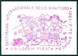 Scout Brindisi Settimana Internazionale Dello Scoutismo 1991 Mesegne FG S07 - Italie