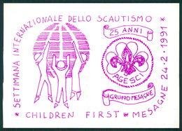 Scout Brindisi Settimana Internazionale Dello Scoutismo 1991 Mesegne FG S08 - Italie