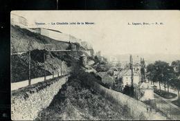 Carte écrite: Citadelle - (côte De La Meuse) Obl. 1907 - Namur