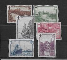 Belgique N°293/298 - Neufs ** Sans Charnière - N°293 & 295 Neufs * Avec Charnière - TB - Nuevos