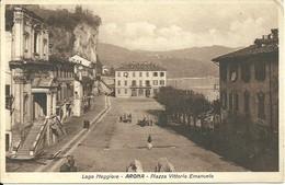 LAGO MAGGIORE - ARONA - PIAZZA VITTORIO EMANUELE - PIEMONTE - ITALY - Verbania