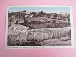 CHAZELLES SUR LYON_Le Barrage Et La Maison Du Garde - Sonstige Gemeinden