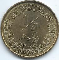 Libya - 1435 - 2014 - ¼ Dinar - KM34 - Libia