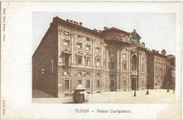 ITALIE - TURIN - TORINO - PALAIS CARIGNANO - PRECURSEUR - Carte Colorisée - Palazzo Carignano