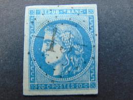 Beau N°. 45C Oblitéré Avec Très Belles Marges - 1870 Emissione Di Bordeaux