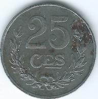 Luxembourg - Charlotte - 1920 - 25 Centimes - Iron - KM32 - Lussemburgo