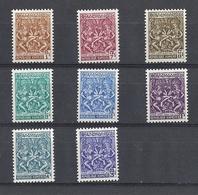 République KhmereTimbre YT N°296/303 - Cambodge