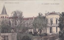 FRANCIA - CARTOLINA - LUSSANT - VUE DES CHIMèRES- VIAGGIATA PER PARIS - Autres Communes