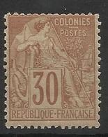 Colonies Générales N° 55 * Neuf Avec Charnière - Alphée Dubois