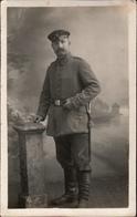 ! Alte Ansichtskarte Foto, Photo, Soldat, Uniform, Militaria, Säbel, 1916, Feldpost, 9.AK - Materiaal