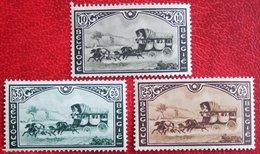 Postkoets - Malle Poste Complete Set 1935 OBP 407-409 (Mi 402-404) POSTFRIS/ MNH ** BELGIE BELGIUM - Unused Stamps