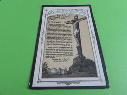 DOODSPRENTJE   FRANCISCUS ROMBAUTS - Images Religieuses