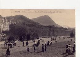 CPA - LOURDES - 18 -  PELERINS SE RENDANT A LA MESSE DANS LA PRAIRIE LE 16 JUILLET 1908 - N° 24 - - Lourdes
