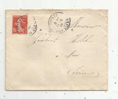 Lettre , 1909 ,VEYNES ,  Hautes Alpes ,  2 Scans - 1877-1920: Période Semi Moderne