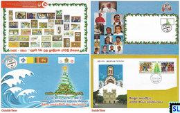 Sri Lanka Stamps 2014, Christmas, Folder, Presentation Pack - Sri Lanka (Ceylon) (1948-...)