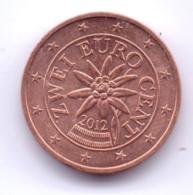 AUSTRIA 2012: 2 Euro Cent, KM 3083 - Autriche