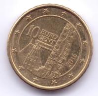 AUSTRIA 2016: 10 Euro Cent, KM 3139 - Autriche