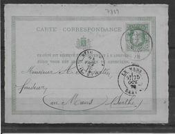 Belgique Entier Charbonnages Unis - TB - Postales [1871-09]
