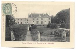 CPA 86 GENCAY Le Château De La Laudonnière - Gencay