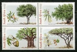South Africa Mi# 1155-8 Postfrisch/MNH - Flora Trees - Südafrika (1961-...)