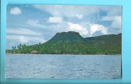 POLYNESIE---TAPIOI---mont Caractéristique D'uturoa Raiatea--voir 2 Scans - Polynésie Française