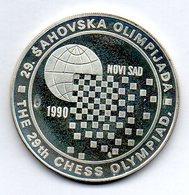 YUGOSLAVIA, 150 Dinara, Silver, Year 1990, KM #147 - Yougoslavie