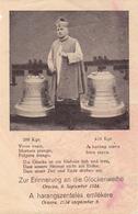 ROMANIA - ORSOVA ( MEHEDINTI ) : ERINNERUNG An DIE GLOCKENWEIHE / CONSÉCRATION DES CLOCHES : 9 SEPTEMBER 1934 (ae581) - Roumanie