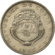 Monnaie, Costa Rica, Colon, 1965, TTB, Copper-nickel, KM:186.2 - Costa Rica