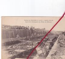 CP 62 -  VIOLAINES -   Ruines -  Guerre 1914 - 18 - Quai De La Compagnie Des Min Es De Béthune - France
