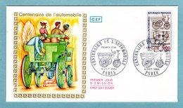 FDC France 1984 - Centenaire De L'automobile - Delamare Deboutteville Et Malandin - YT 2341 - Paris - 1980-1989