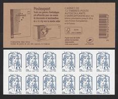 Carnet  Marianne De Ciappa Bleu Europe - Markenheftchen