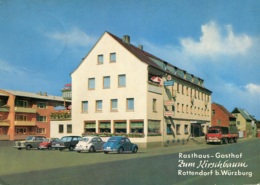 "VW Käfer Ovali,Goggomobil,Opel Rekord A,Mercedes + Miele Truck,Rottendorf,""Zum Kirschbaum"", Gelaufen - Toerisme"