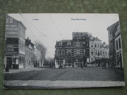 LIEGE - PLACE DES VENNES 1911 - Liege