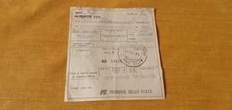 BIGLIETTO TRENO DA DA CASTELLAMMARE DEL GOLFO A PALERMO 1989 - Europe