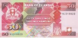 BILLETE DE UGANDA DE 50 SHILINGI DEL AÑO 1998 EN CALIDAD EBC (XF)   (BANKNOTE) - Ouganda