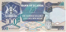 BILLETE DE UGANDA DE 100 SHILINGI DEL AÑO 1998 EN CALIDAD EBC (XF)   (BANKNOTE) - Uganda