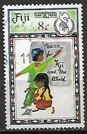 FIDJI   -   1986.  Année Internationale De La Paix  /  Enfants.  Oblitéré - Fidji (1970-...)