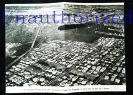 Arkhangelsk (en Russe : Архангельск) Russie Vu D'un Graf-Zeppelin    - Coupure De Presse (encadré Photo) De 1931 - Documents Historiques